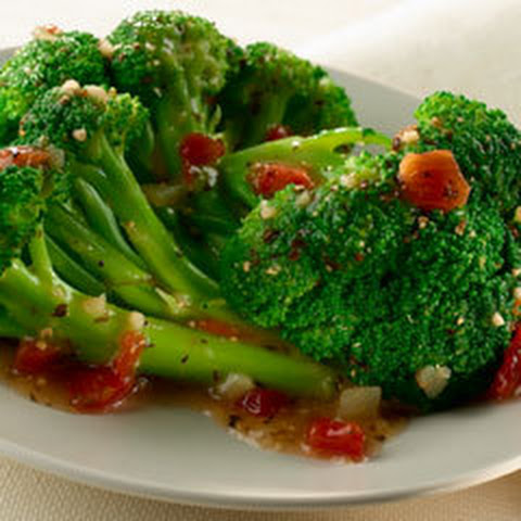 Italian Steamed Broccoli