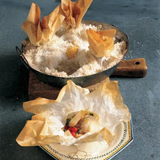 Sea Scallops in Parchment Pouches