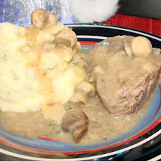 Nif's Easy Crock Pot Smothered Roast Beef
