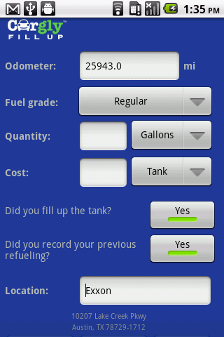【免費交通運輸App】Cargly Fill Up-APP點子