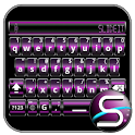 SlideIT Purple Digital Skin icon