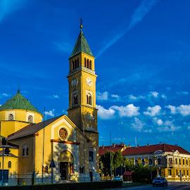 Đurđevac by Štefan Brajković - City,  Street & Park  Street Scenes ( koprivnica-križevci county, croatia, đurđevac )