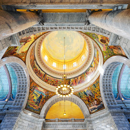 Capital Ceiling by Torrey Gleave - Buildings & Architecture Architectural Detail