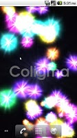 Screenshot of Coligma Live Wallpaper