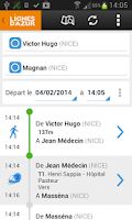 Screenshot of Lignes d'Azur Mobile