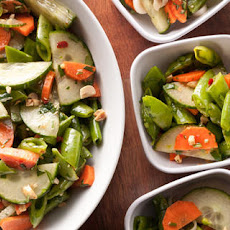 Snap Pea Chopped Salad with Thai Vinaigrette Recipe