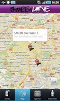Screenshot of StreetLove