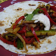 Roasted Vegetable Fajitas