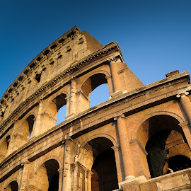 Colosseo by Thomas Adams - Buildings & Architecture Other Exteriors ( colosseum, ancient rome, rome, impressive, architecture, italy )