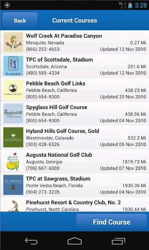 Golf Frontier Pro - Golf GPS - screenshot