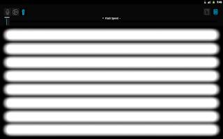 Screenshot of Music Strobe Light