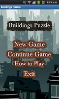 Screenshot of Buildings Puzzle