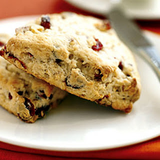 Dried Cranberry, Walnut, and Lemon Scones