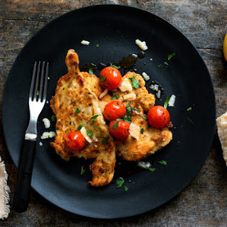 Lemon and Garlic Chicken With Cherry Tomatoes
