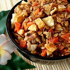 Almond/Walnut-Coconut Granola