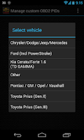 Screenshot of Advanced EX for KIA