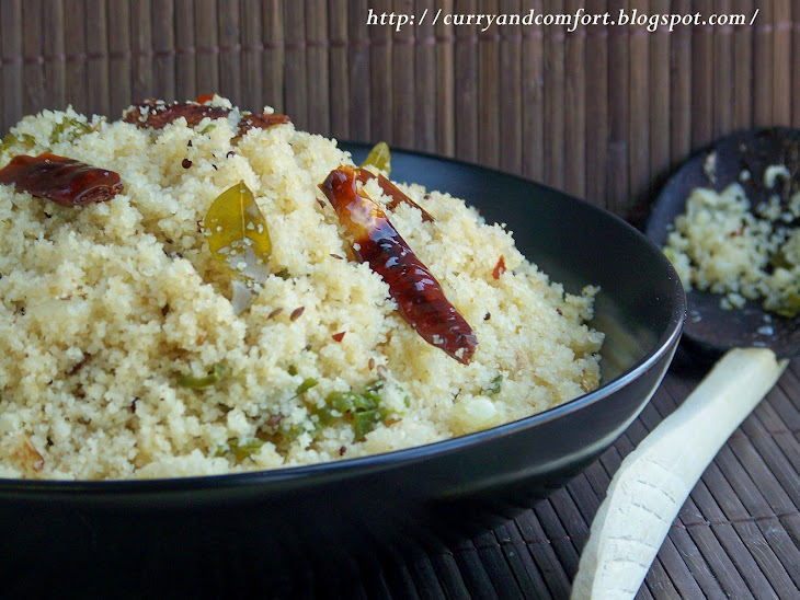 Upma (South Indian Breakfast Dish)