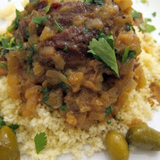 The Secret Ingredient (Turmeric): Moroccan Lamb Tagine with Turmeric, Onions, and Olives