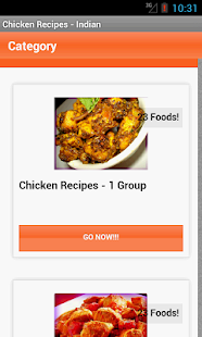 Chicken Recipes - Indian - screenshot