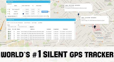 Screenshot of WAY GPS Tracker Family Locator