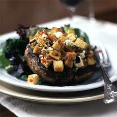 Portobello Mushrooms with Mediterranean Stuffing