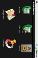 Screenshot of CarSafe Shortcuts