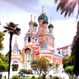 Russian Church, NICE by Sajal Gupta - Instagram & Mobile Android