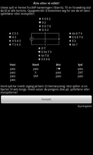 【免費紙牌App】Bridge Lesestoff Prøveversjon-APP點子