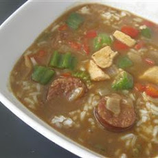 Classic Chicken and Sausage Gumbo