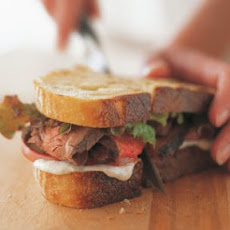 Steak and Tomato Sandwiches