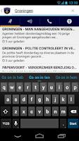 Screenshot of Politie Nieuws NL