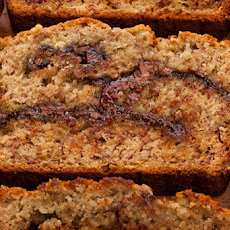 Roasted Banana–Nutella Quick Bread Recipe
