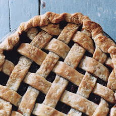 Pear-Cranberry Mincemeat Lattice Pie