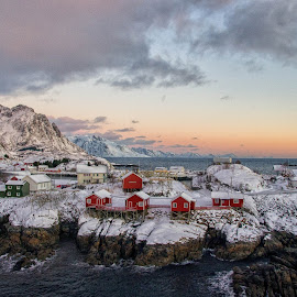 Lofoten by Darius Chua Xian - City,  Street & Park  Vistas ( dawn, long exposure, sunrise, lofoten, norway )