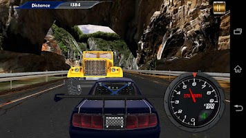 Screenshot of Fast Highway Racing