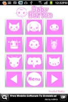 Screenshot of Baby Button Free