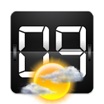 Weather Clock widget APK Image