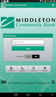 Screenshot of Middleton Community Bank