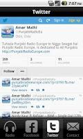 Screenshot of Punjabi Radio Europe