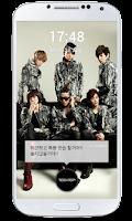 Screenshot of TEEN TOP Lockscreen