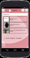 Screenshot of Video Zone