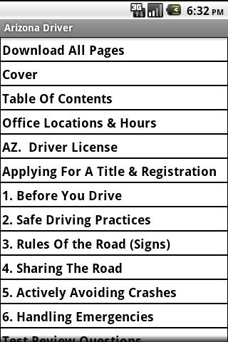 Arizona Driver Handbook