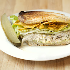 Cool Ranch Chicken Salad Sandwich
