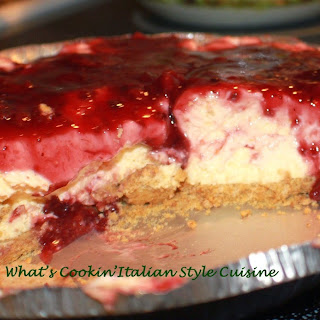 No Bake Berry Cheese Pie