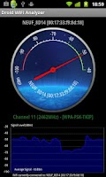 Screenshot of Droid Wifi Analyzer
