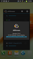 Screenshot of AllStream Cast+AirPlay+DLNA