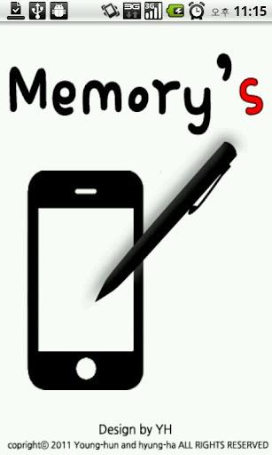 Notepad Memory's