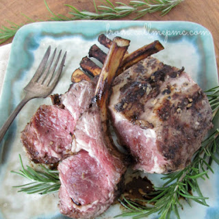 Grilled Lamb Lollipops