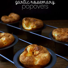 Garlic Rosemary Popovers