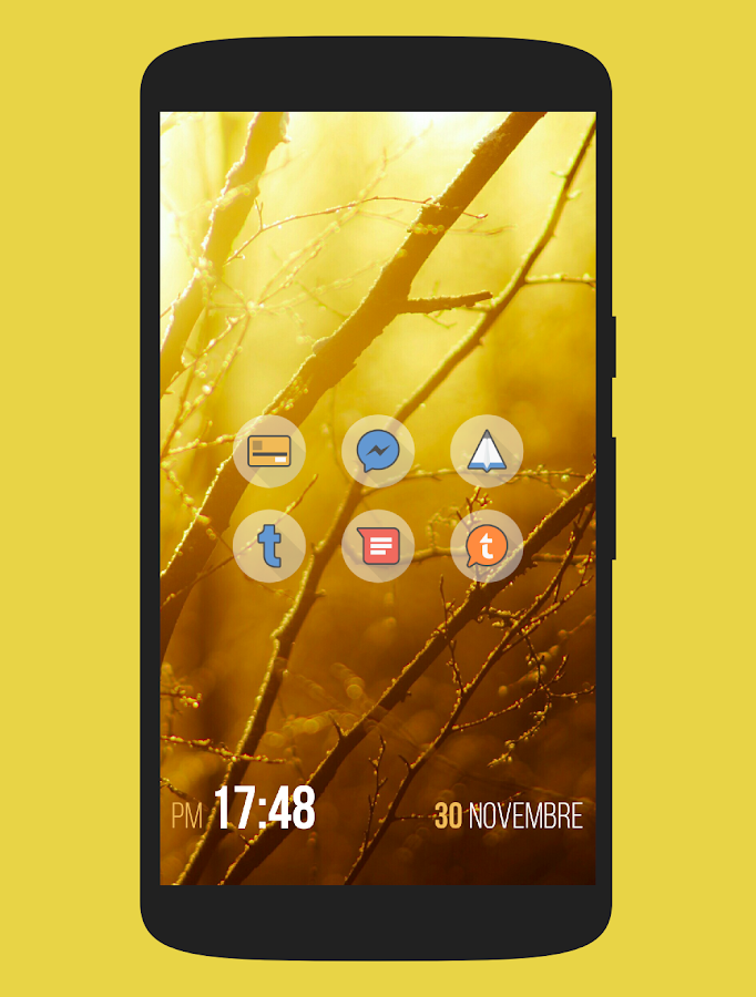 Fluxo - Icon Pack Screenshot 0